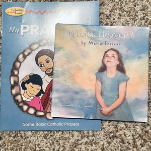 👀4/$25 What's Heaven? Children'sBook with Prayers